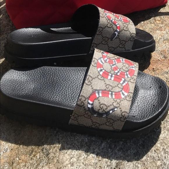 444ecd22fb49af Gucci Shoes - 100% authentic Gucci slides
